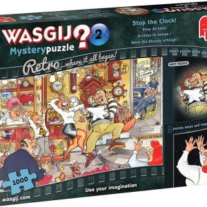 Wasgij Mystery Retro 2 - Stop the Clock 1000 Piece Jigsaw Puzzle