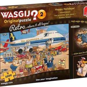 Wasgij Original Retro 2 - Happy Holidays 1000 Piece Puzzle - Jumbo