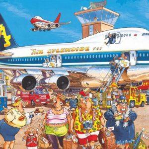 Wasgij Original Retro 2 - Happy Holidays 1000 Piece Puzzle - Jumbo