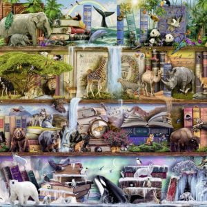 Wild Kingdom Shelves 2000 Piece Puzzle - Ravensburger
