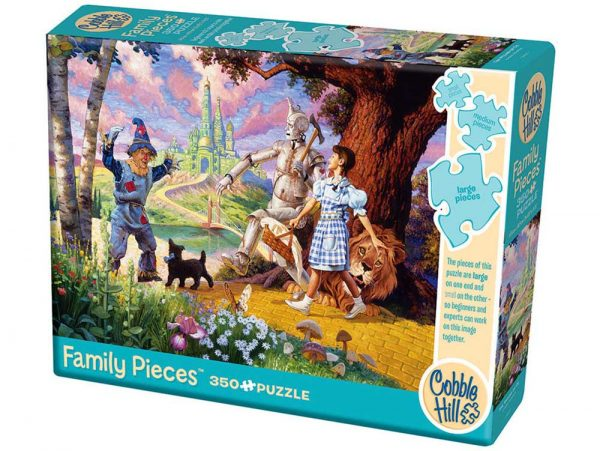 Wizard of Oz 350 Piece Family Format Puzzle - Cobble Hill