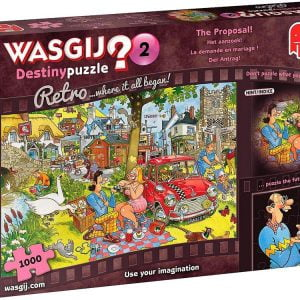 Wasgij Destiny Retro 2 - The Proposal 1000 Piece Puzzle - Jumbo