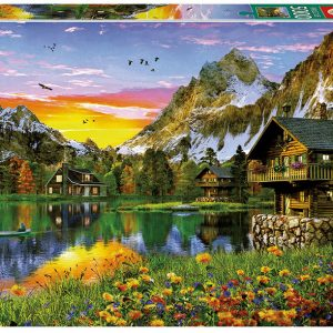 Alpine Lake 5000 Piece Educa Jigsaw Puzzle