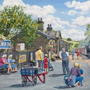 At the Station - Oakworth 500 XL Piece Jigsaw Puzzle