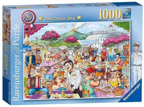 Best of British No 20 - Cruise Ship 1000 Piece Puzzle - Ravensburger