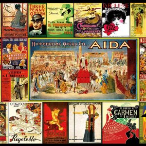 Collage of Operas 3000 Piece Educa Jigsaw Puzzle