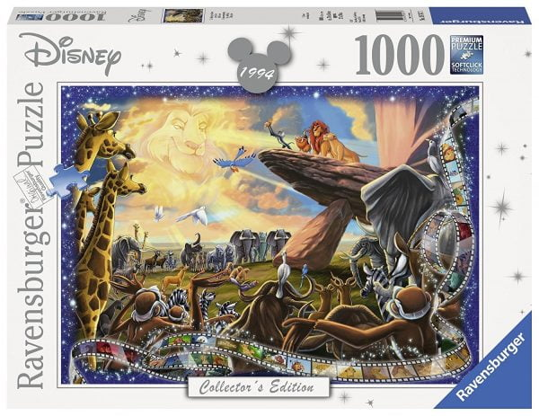 Disney Memories - The Lion King 1000 Piece Jigsaw Puzzle