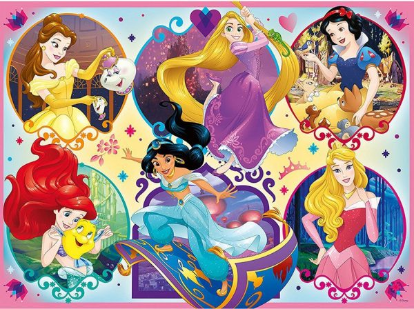 Disney Princess 2 Be Strong Be You 100 xXL Piece Jigsaw Puzzle - Ravensburger