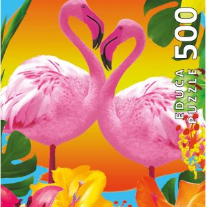 Flamingos 500 Piece Educa Jigsaw Puzzle