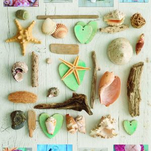 Seashells Collage 1000 Piece Educa Jigsaw Puzzle