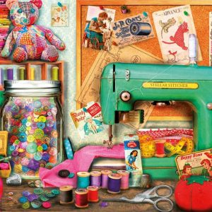 Sewing Corner 1000 Piece Educa Jigsaw Puzzle