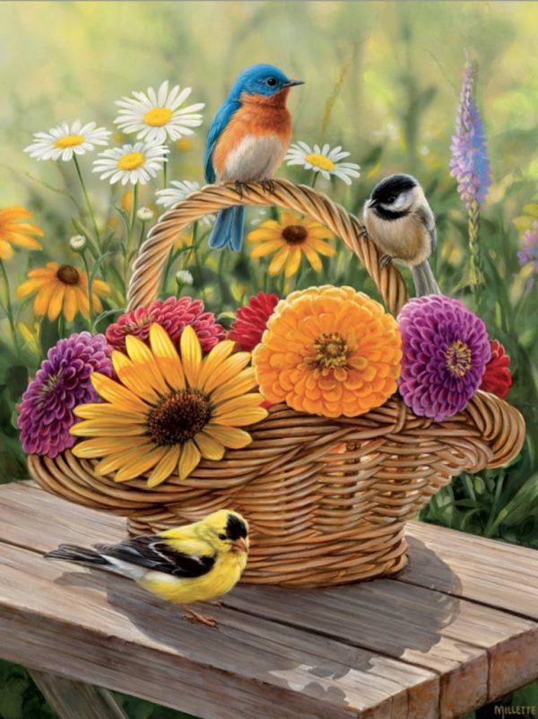Summer Bouquet 275 XL Piece Jigsaw Puzzle