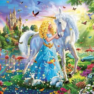 The Princess and the Unicorn 1000 Piece Jigsaw Puzzle