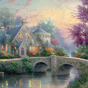 Thomas Kinkade Lamplight Manor 2000 Piece Puzzle