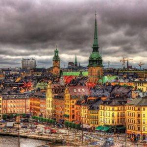 Views of Stockholm Sweden 1000 Piece Educa Jigsaw Puzzle