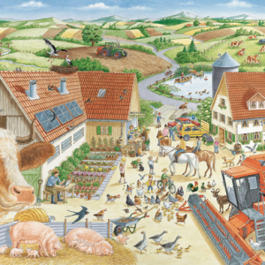 Adventures on the Farm 150 Piece Jigsaw Puzzle