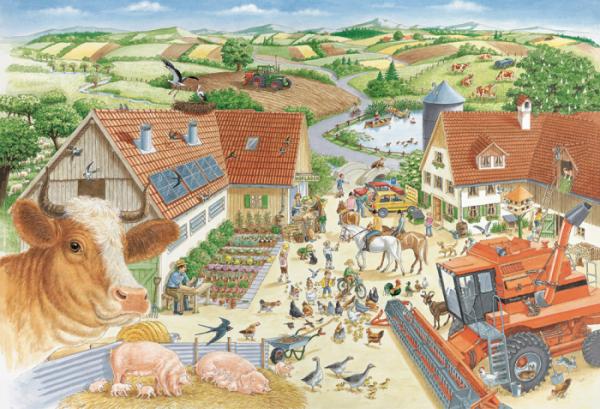 Adventures on the Farm 150 Piece Jigsaw Puzzle