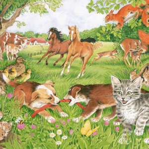 Animal Babies 150 Piece Jigsaw Puzzle