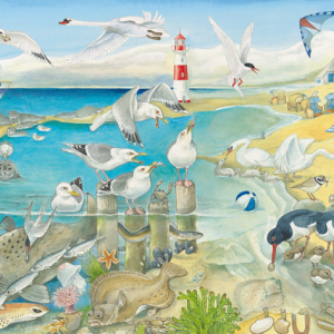 Animals at the Seaside 60 Piece Jigsaw Puzzle