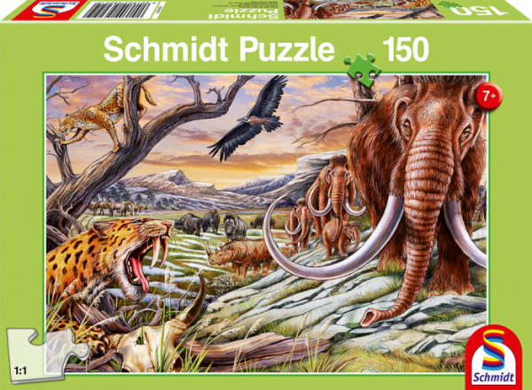Animals of the Ice age 150 Piece Schmidt Puzzle 1