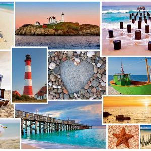 By the Sea 1000 Piece Jigsaw Puzzle - Schmidt