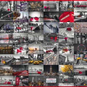 City Images 1500 Piece Schmidt Jigsaw Puzzle
