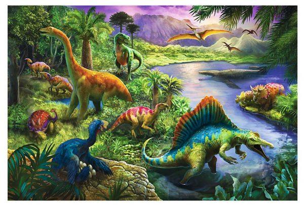 Dinosaurs 260 Piece Trefl Jigsaw Puzzle
