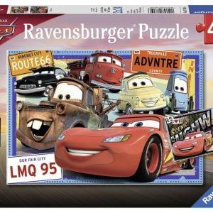 Disney Pixar Cars - Two Cars 2 x 24 Piece Puzzle