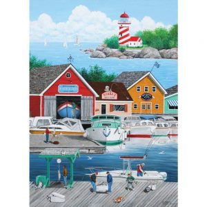 Dock of the Bay - Cat Burglar 1000 Piece Holdson Puzzle