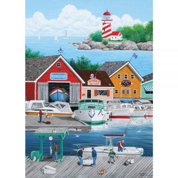 Dock of the Bay - Cat Burglar 1000 Piece Holdson Puzzle