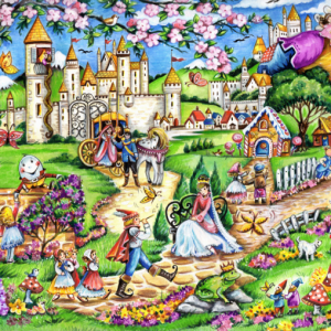 Fairytale World 100 Piece Jigsaw Puzzle