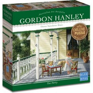 Gordon Hanley - Tea Party 1000 Piece Blue Opal Puzzle