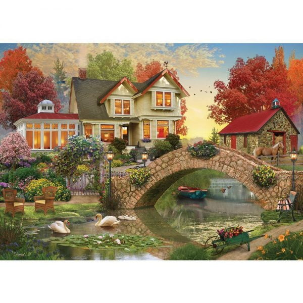 Home Sweet Home - Morning Sunrise 1000 Piece Puzzle