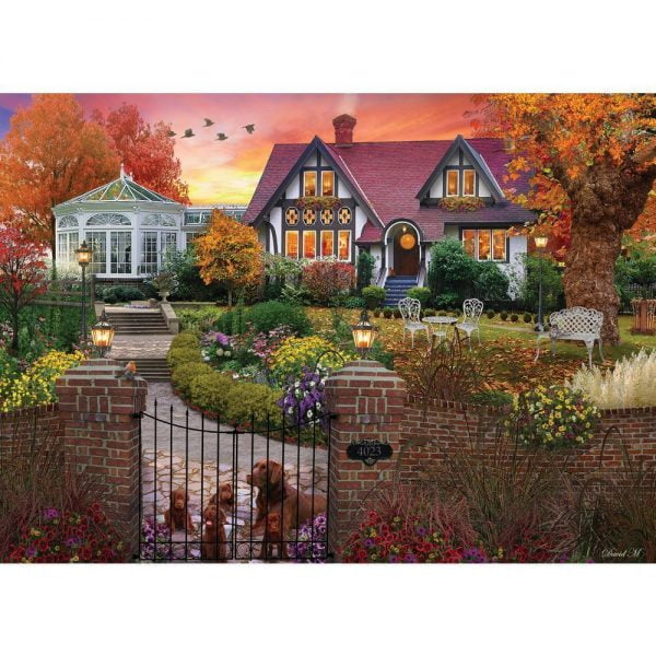 Home Sweet Home - Conservatory House 1000 PC Holdson Puzzle