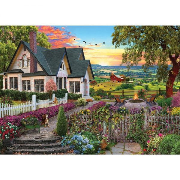 Home Sweet Home - Hilltop View 1000 Piece Holdson Puzzle