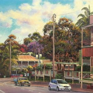John Bradley - Eumundi on Sunday 1000 Piece Jigsaw Puzzle