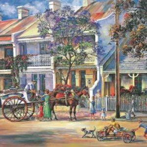 John Bradley - The Milko 1000 Piece Blue Opal Puzzle