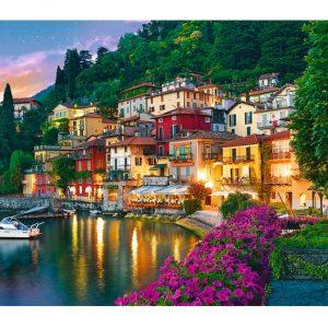 Lake Como Italy 500 Piece Trefl Jigsaw Puzzle