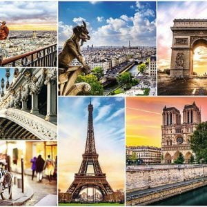 Magic of Paris Collage 3000 Piece Trefl Jigsaw Puzzle