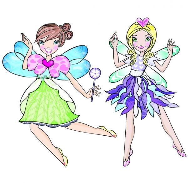 Magnetic Dress Up Fairies - Mudpuppy