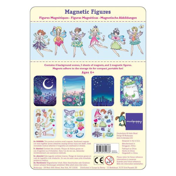 Magnetic Dress Up - Fairies - Mudpuppy