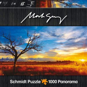 Mark Gray - Desert Oak Sunset NT 1000 Piece Jigsaw Puzzle - Schmidt