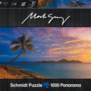 Mark Gray - Torokiki island Sunset Fjij 1000 Piece Puzzle