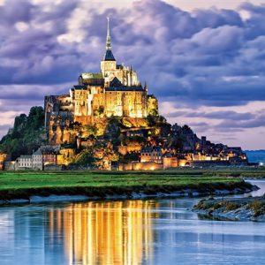 Mont St. Michel, France 2000 Piece Jigsaw Puzzle