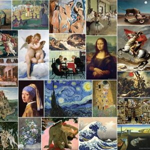 Museum Art Collection 4000 Piece Tomax Puzzle