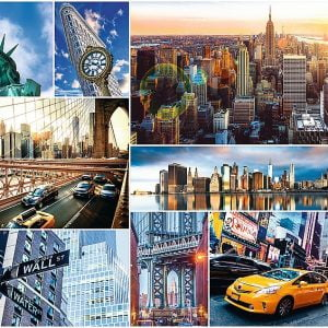 New York Collage 4000 Piece Trefl Jigsaw Puzzle