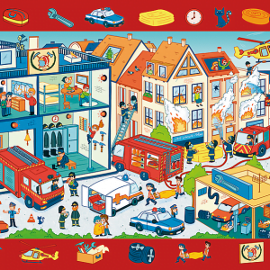 Observation Puzzle - Fire Station 70 Piece