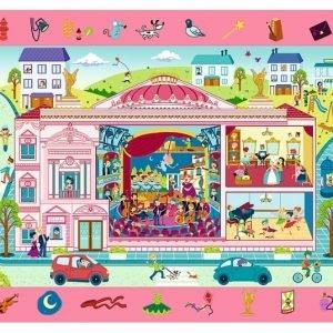 Observation Puzzle - Palace 70 Piece Trefl