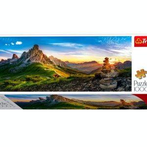 Panorama - Dolomites Gia Pass 1000 Piece Tref Jigsaw Puzzle