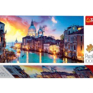 Panorama - Venice Grand Canal 1000 Piece Trefl Jigsaw Puzzle